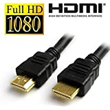 GIA DIGITAL 1.4V High Speed Full HD Male to HDMI Female Cable,Size (1.5 m) (Black)