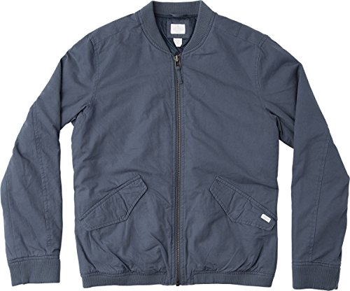 RVCA Men's All City Bomber Jacket, Dark Denim, 2XL by RVCA