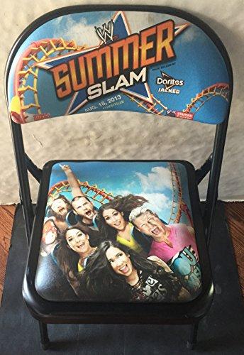 wwe-26th-summer-slam-ringside-chair-2013-cm-punk-kane-staples-center-rare