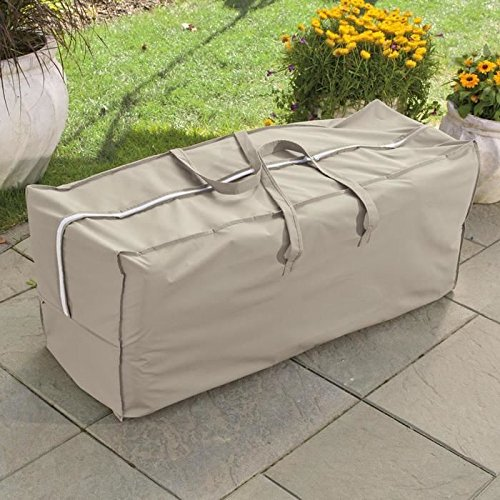 Weather Wrap Cushion Storage Bag Patio Furniture Covers Patio and Furniture