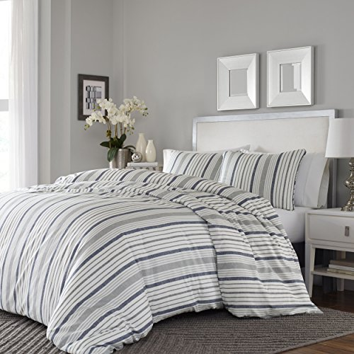 Stone Cottage Conrad Comforter Set, Full/Queen, Medium Grey