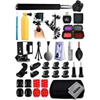 Opteka Card Reader + Filters + Selfie Stick + Skeleton Housing + Premium Case + Cleaning Kit + Floating Bobber + Mini Tripod + Adhesive Mounts + More For GoPro Hero4 Cameras
