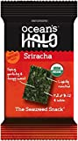 Ocean's Halo Seaweed Snacks (1 Case of 12 Unit Trays) (Sriracha)