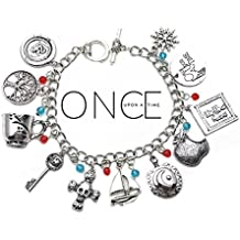 Once Upon a Time TV Series Theme Multi Charms Jewelry Bracelets Charm by Family Brands