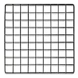 Set of 4 Retail Black Mini Grid Panel for Cube Display 14''x14''