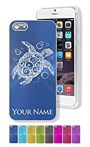 iPhone 5/5s Case/Cover, HAWAIIAN SEA TURTLE, Personalized for FREE (Click the CONTACT SELLER link after purchase to tell us your case color and personalization request)