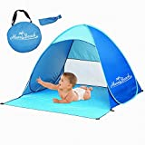 Monobeach Automatic Pop Up Beach Tent Instant Portable Quick Cabana Sun Shelter