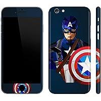 Gadgets Wrap Full Body Superhero Cpt. America 02 Skin For Apple iPhone 6/6S - Multi Color