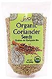 Organic Coriander Seeds 7 Ounce - Non GMO Certified USDA Organic Corriander Seeds - By Jiva Organics