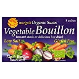 Marigold Organic Low Salt Bouillon Cube Purple 72g - Pack of 6