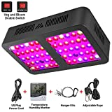 Led Grow Light, MAYGROW 600W Reflector-Series Full Spectrum LED Grow Light for Indoor Plants Veg and Flower with Veg and Bloom Double Switch