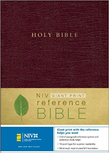 Niv Holy Bible Giant Print Reference Edition Thumb Indexed