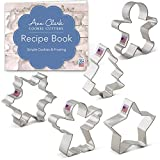 Ann Clark Holiday Christmas Cookie Cutter Set 5pc USA Made Steel Deal (Small Image)