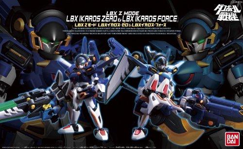 (Little Battlers eXperience W - Z-Mode Series LBX Ikaros Zero & LBX Ikaros Force by Bandai)