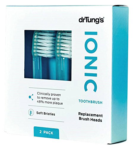 Ionic Toothbrush Head Refill Twin Pk Dr. Tung's 1 Set