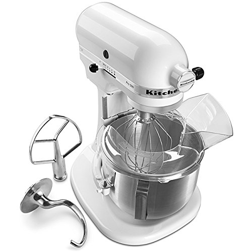 KitchenAid Pro 500 KSM500PSWH Stand Mixer - 325 W - White, B
