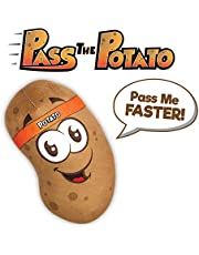 Move2Play Pass The Potato Game,  Includes 30+ Spud-Tacular Phrases and Songs, Wild Birthday Party Game for Kids Ages 4-8 +