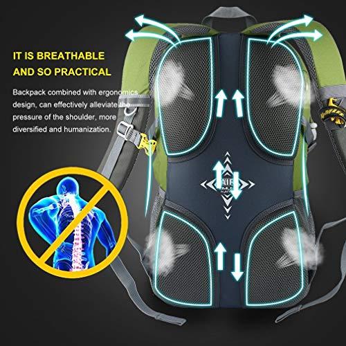 YTYC KIMLEE Male Female Outdoor Travel Bag Waterproof Mountaineering Backpack by YTYC (Image #1)