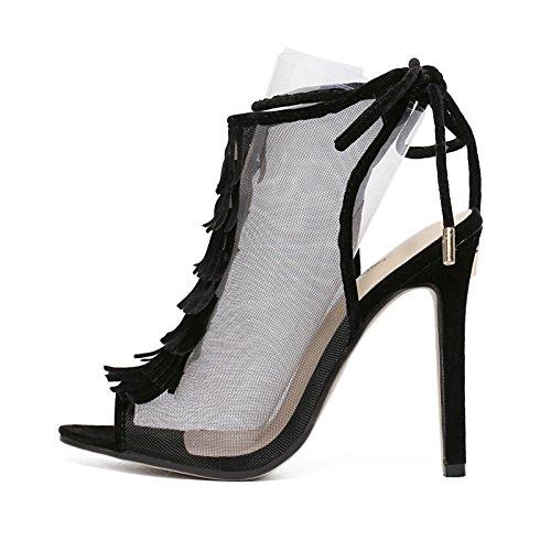 ZHZNVX ZHZNVX ZHZNVX Die high-heel Frauen Schuhe sexy Licht - satin Sandalette high-heel Damenschuhe einzelne Schuhe a63d37