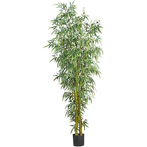 Nearly Natural 5195 Fancy Style Bamboo Silk Tree, 8-Feet by Nearly Natural