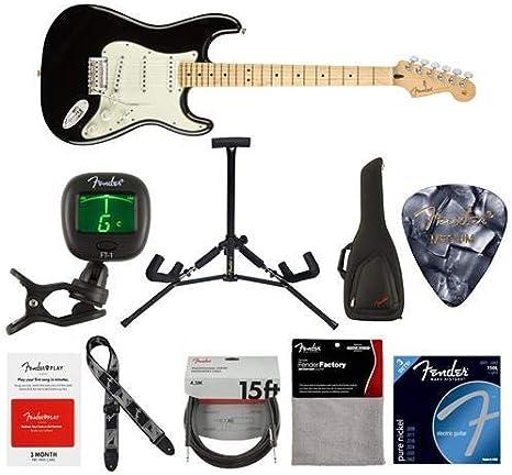 Guitarra eléctrica Fender Player Stratocaster, 22 trastes, forma ...