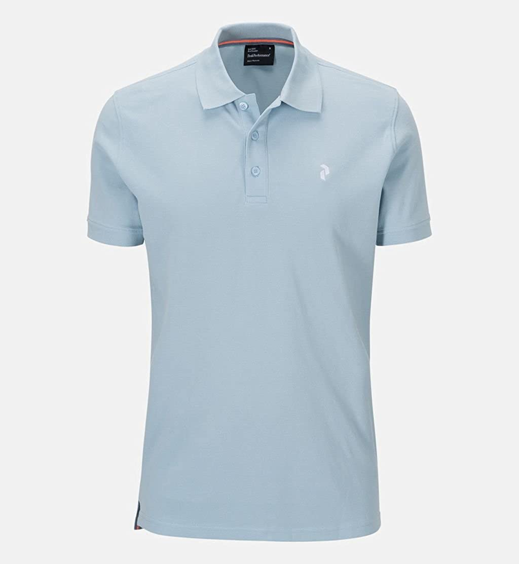 Peak Performance G PIQUE - Polo para hombre (Powder Blue) Azul ...