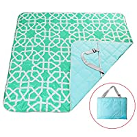 """YALUYA Extralarge 6080"""" Picnic & Outdoor Blanket 3-Layer Zip Packed Portable ..."""