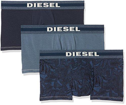 Diesel 3-Pack Allover Underdenim Boxers Blue