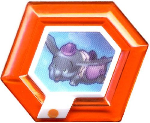 Disney Infinity RARE Power Disc Dumbo