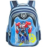 Gekey Boys Cool Transformers Book Bags Backpack for School