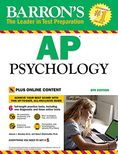 Pdf Teen Barron's AP Psychology with Online Tests