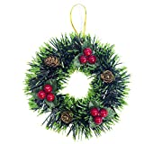 Fabal Christmas Tree Decor Small Garlands Ornament Home Decor Pendant Xmas Tree Decor Holiday Party (A, 1PC)