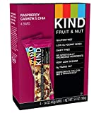 KIND Bars, Raspberry Cashew & Chia, Gluten Free, 1.4oz, 4 Count Review