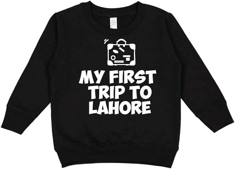 Mashed Clothing My First Trip to Lahore Toddler//Kids Sweatshirt