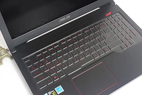 Leze - Ultra Thin Keyboard Cover Skin for 15.6 ASUS FX503 FX504 Gaming Notebook - TPU