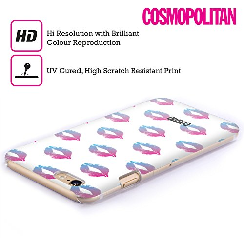 Official Cosmopolitan Candy Kiss Mark Hard Back Case for Apple iPhone 6 / 6s