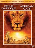 Disneynature : Félins d'Afrique / African Cats (Bilingual DVD Combo) [Blu-ray + DVD] (Version française)