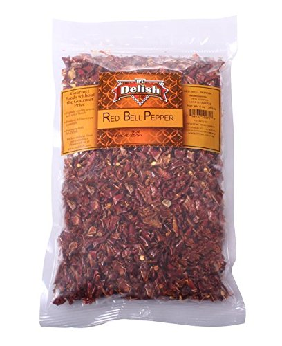 Dried Red Bell Peppers By It's Delish, 1 lb (Best Way To Roast Red Peppers)