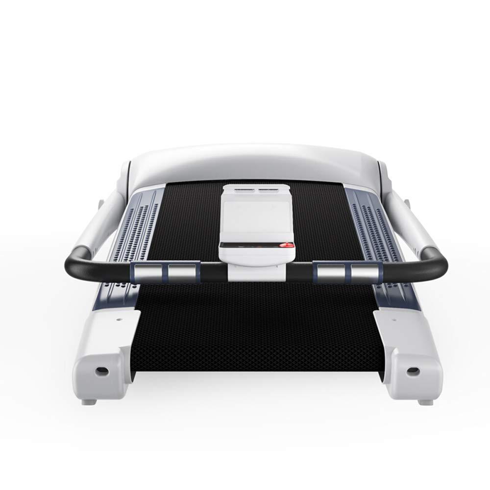 トレッドミルホームスマートフィットネス機器多機能サイレントミニウォーキング  白 B07L885Z3P