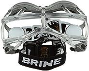 Brine Seeker Lacrosse Goggles Silver Mens