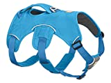 RUFFWEAR - Web Master Dog Harness with Lift Handle, Blue Dusk, Medium