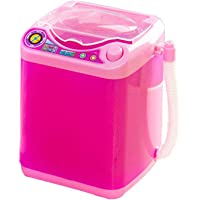 Makeup Brush Cleaner Washing Machine,Mini Electric Spinner Machine Automatic Deep Cleaning Brushes Sponge Powder Puff Device
