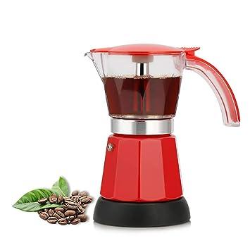 Amazon.com: ZUEN - Cafetera eléctrica italiana para café ...
