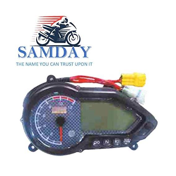 SAMDAY Speedometer Compatible for BAJAJ PULSAR 150 DTSI UG4.5 (2010-2017)- 5863