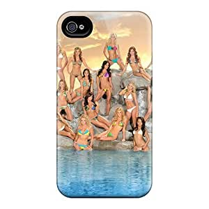 XiFu*MeiHigh-quality Durable Protection Case For Iphone 4/4s(san Diego Chargers Girls Cheerleaders)XiFu*Mei