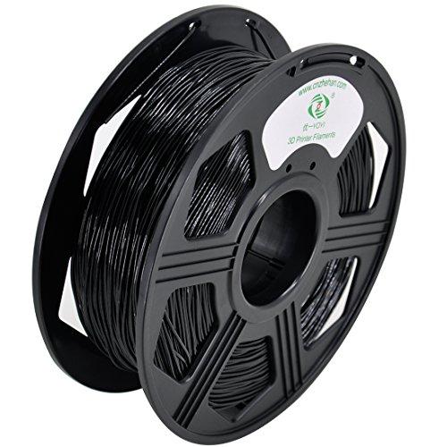 YOYI 3D Flexible TPU 0.8KG 1.75mm Black Flexible TPU 3D Printer Filament, Diameter Tolerance +/- 0.05 mm, 0.8KG Spool, 1.75 mm, Black