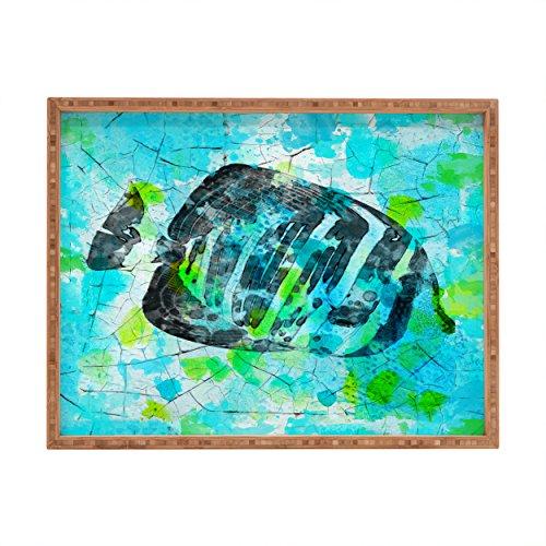 - Deny Designs Irena Orlov Tropical Marine Fish Indoor/Outdoor Rectangular Tray, 14 x 18