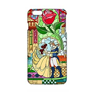 Angl 3D Case Cover Prince & Princess Cartoon Phone Case for iphone 5 5s