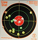 100-pack-7-Reactive-Splatter-Targets-GlowShot-Multi-Color-See-Your-Hits-Instantly-Gun-Rifle-Airsoft-Targets