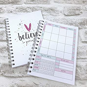 food diary slimming world compatible diet planner journal tracker